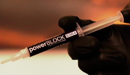 Luiz Narciso Baratieri e o uso da Power Block da BM4